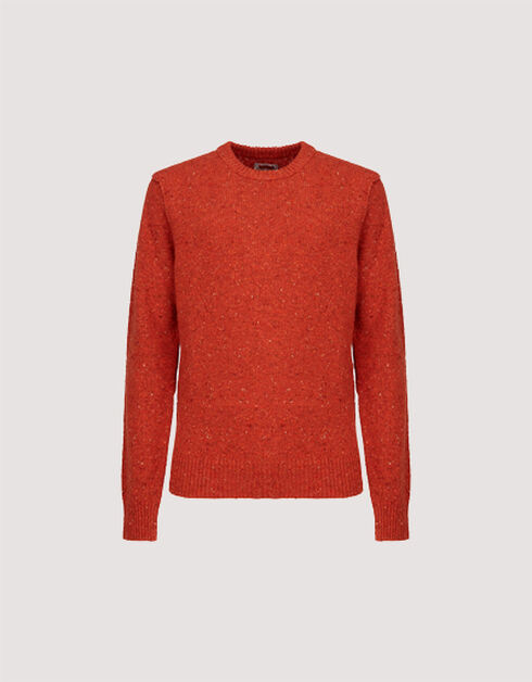 TWEED CREW NECK SWEATER