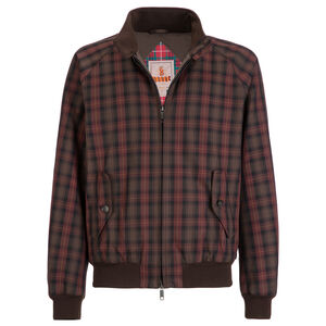 G9 WINTER PADDED JACKET - CHECKED