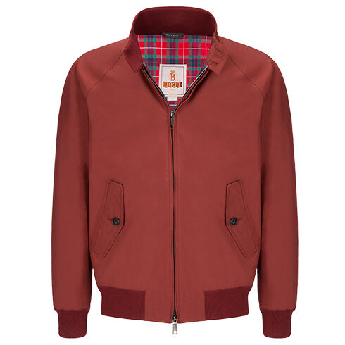 G9 MODERN CLASSIC HARRINGTON JACKET - BARACUTA CLOTH