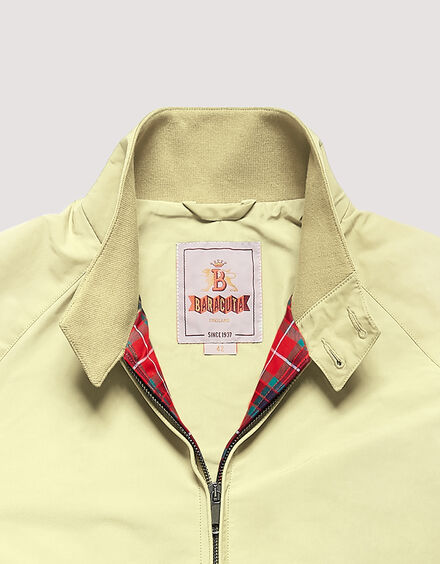 BARACUTA The G Nine Jacket Straw 6