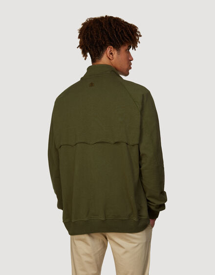 BARACUTA Summer Fleece G9 Military Olive 3