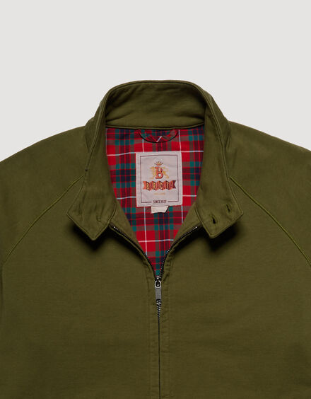 BARACUTA Summer Fleece G9 Military Olive 6