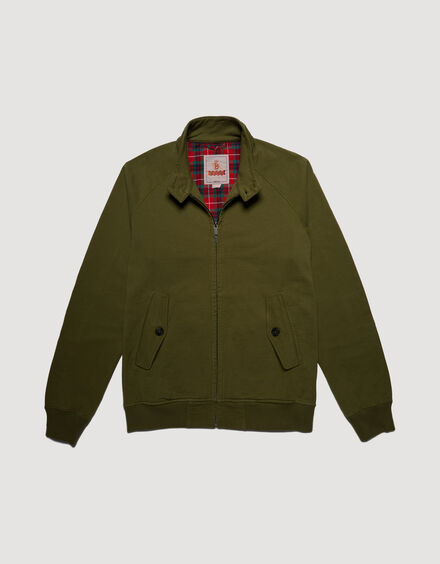 BARACUTA Summer Fleece G9 Military Olive 5