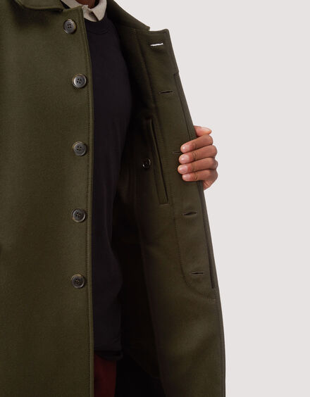 BARACUTA G10 Archive Fit Felted Neo Loden 4
