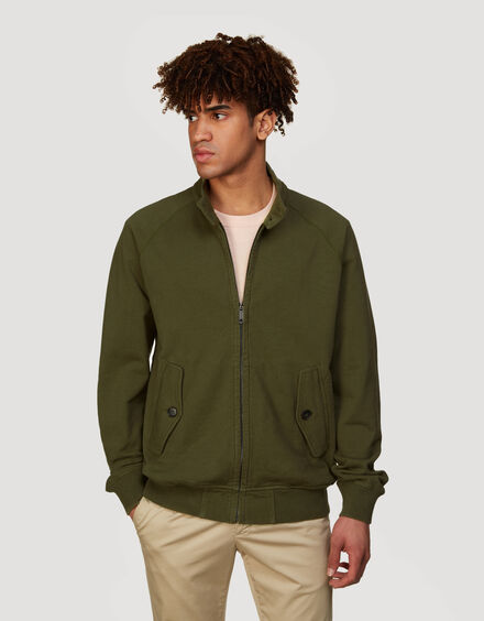 BARACUTA Summer Fleece G9 Military Olive 1