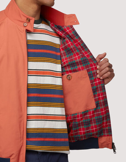 BARACUTA The G Nine Jacket Peach 4