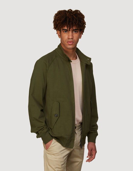 BARACUTA Summer Fleece G9 Military Olive 2