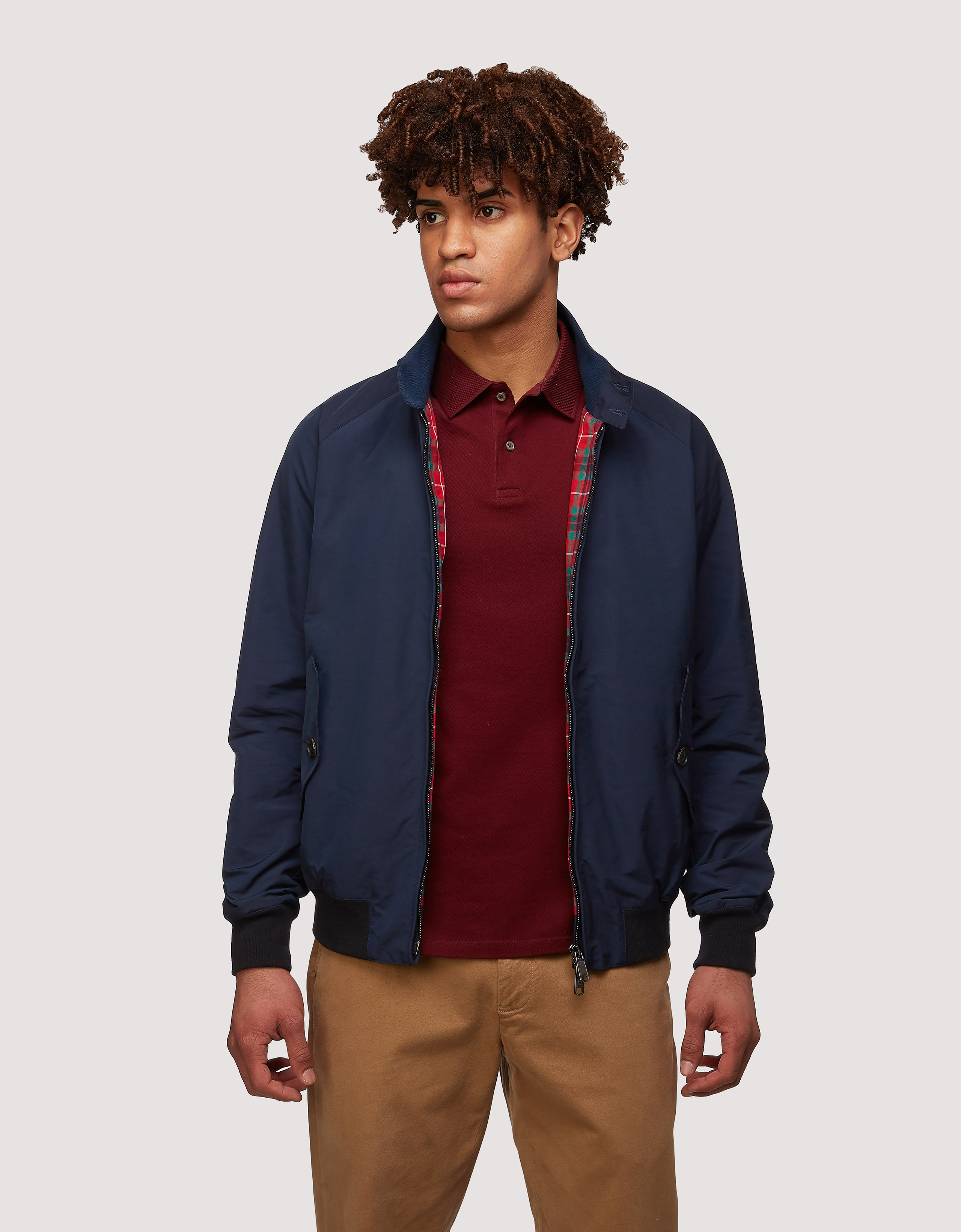 BARACUTA The G Nine Jacket Navy 1