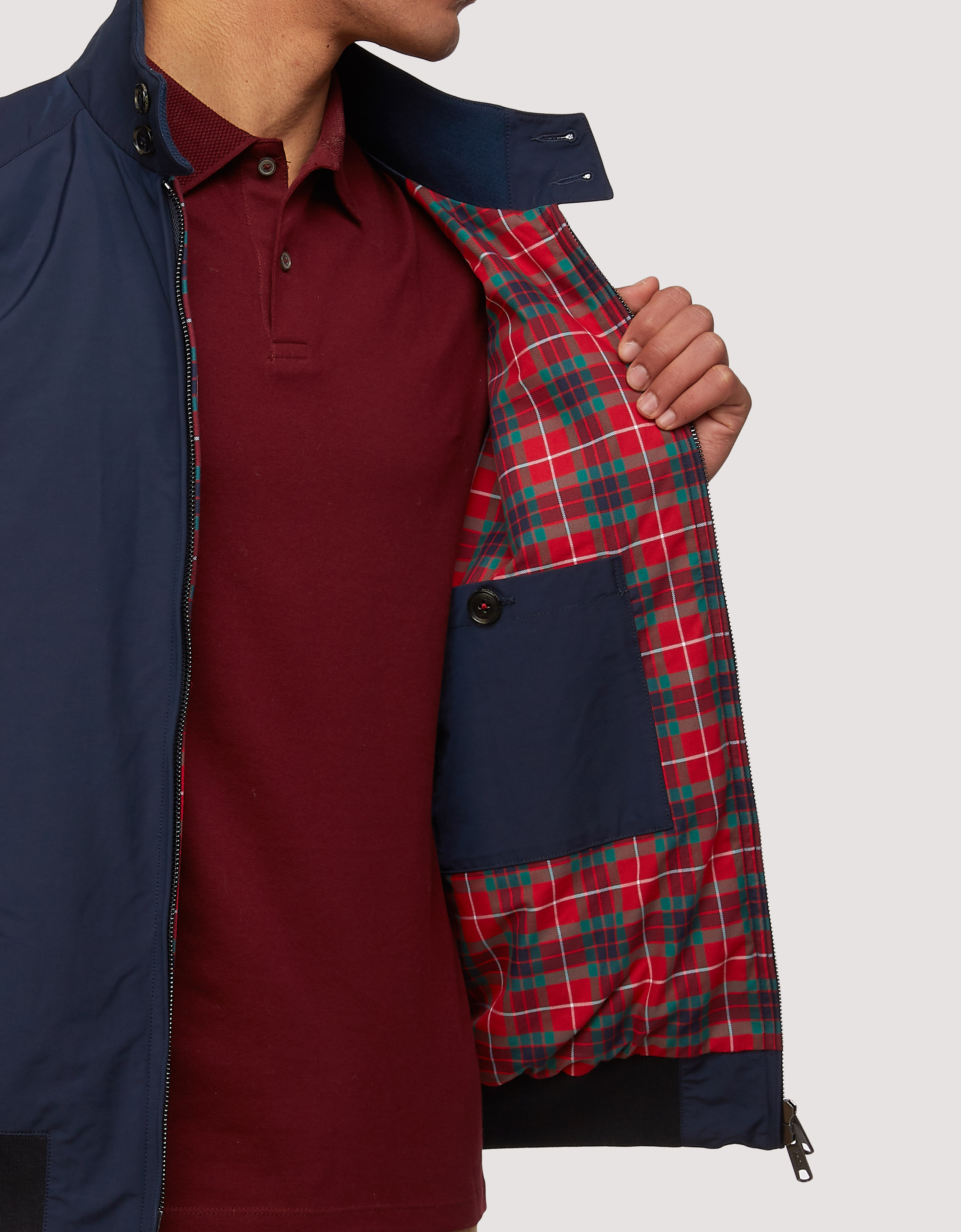 BARACUTA The G Nine Jacket Navy 4
