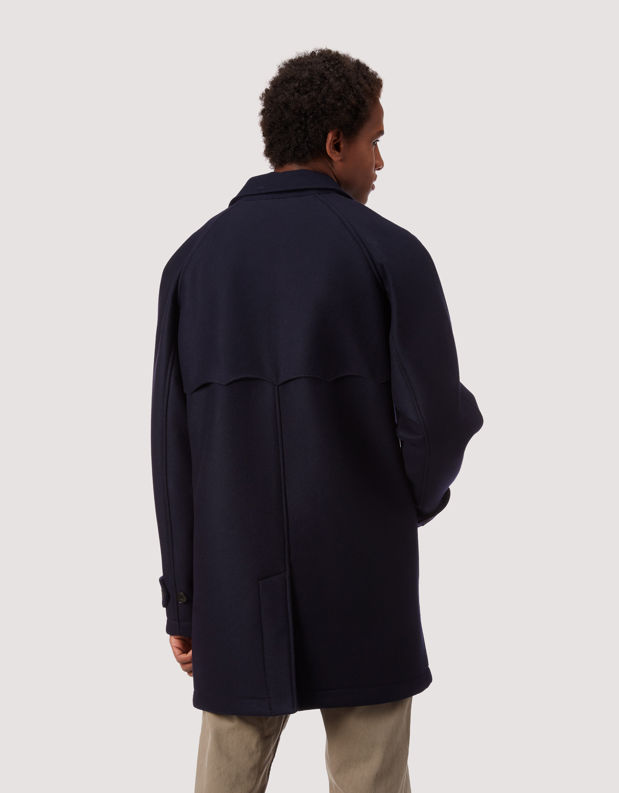BARACUTA G10 Archive Fit Felted Neo Navy 3