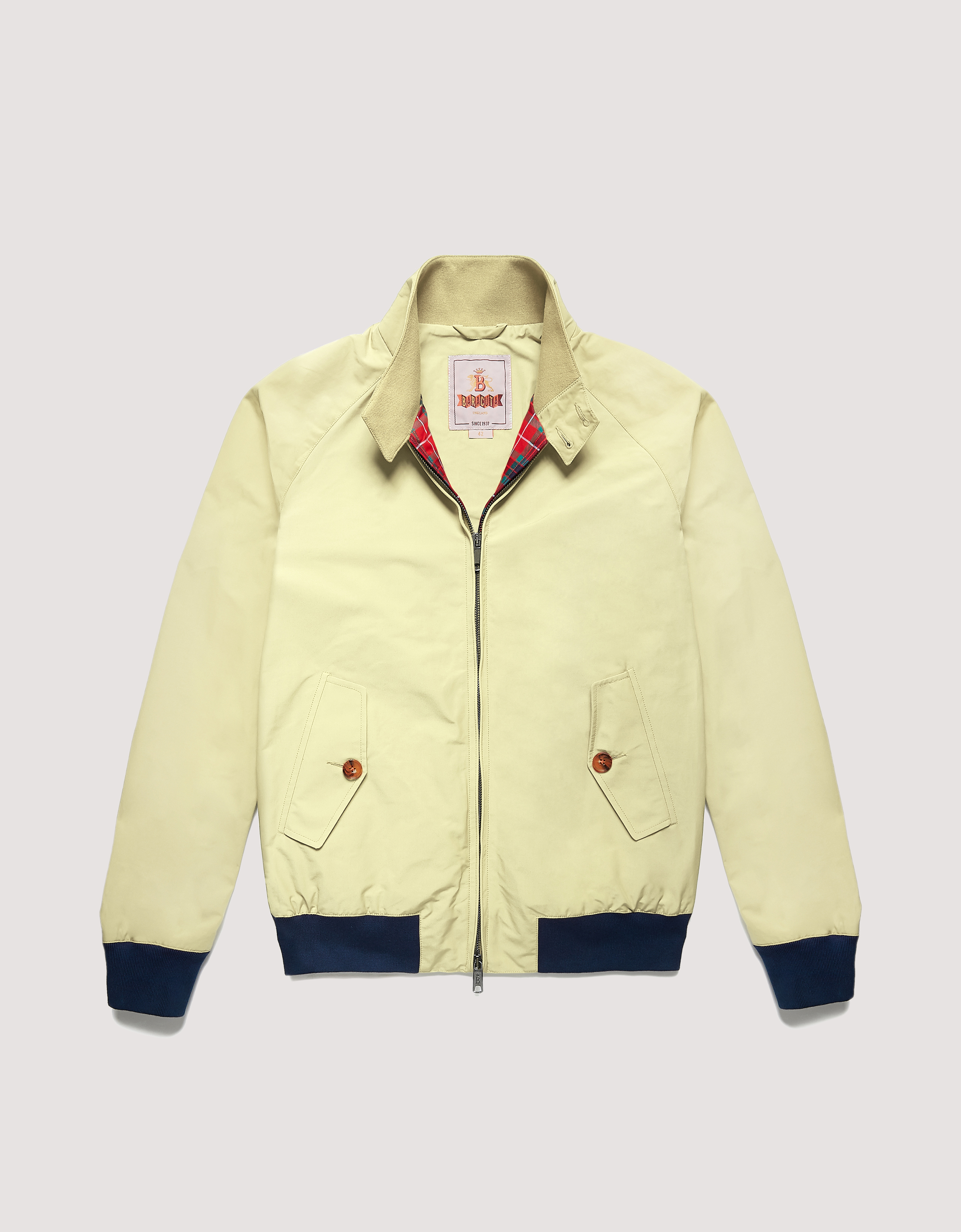 BARACUTA The G Nine Jacket Straw 5