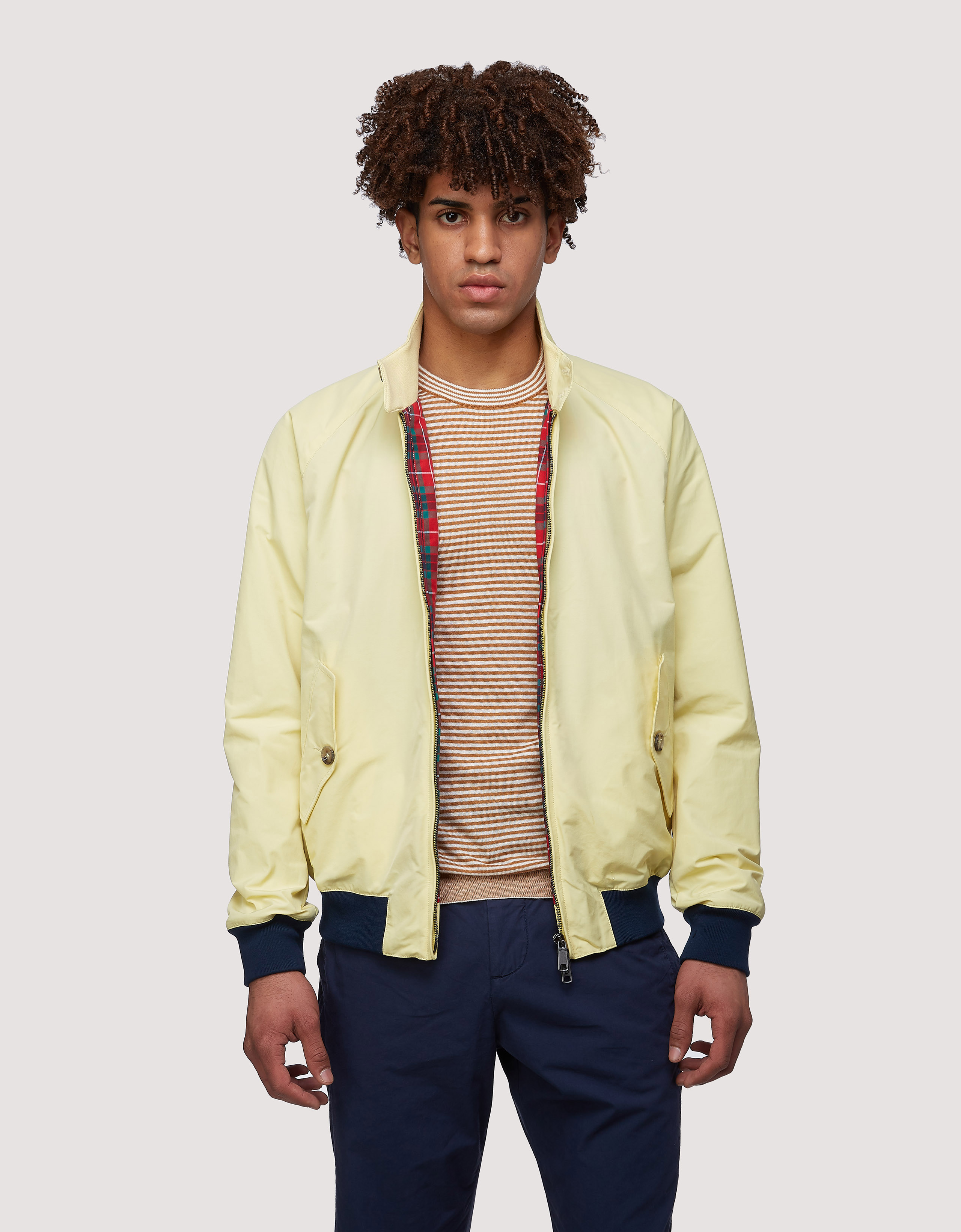 BARACUTA The G Nine Jacket Straw 1