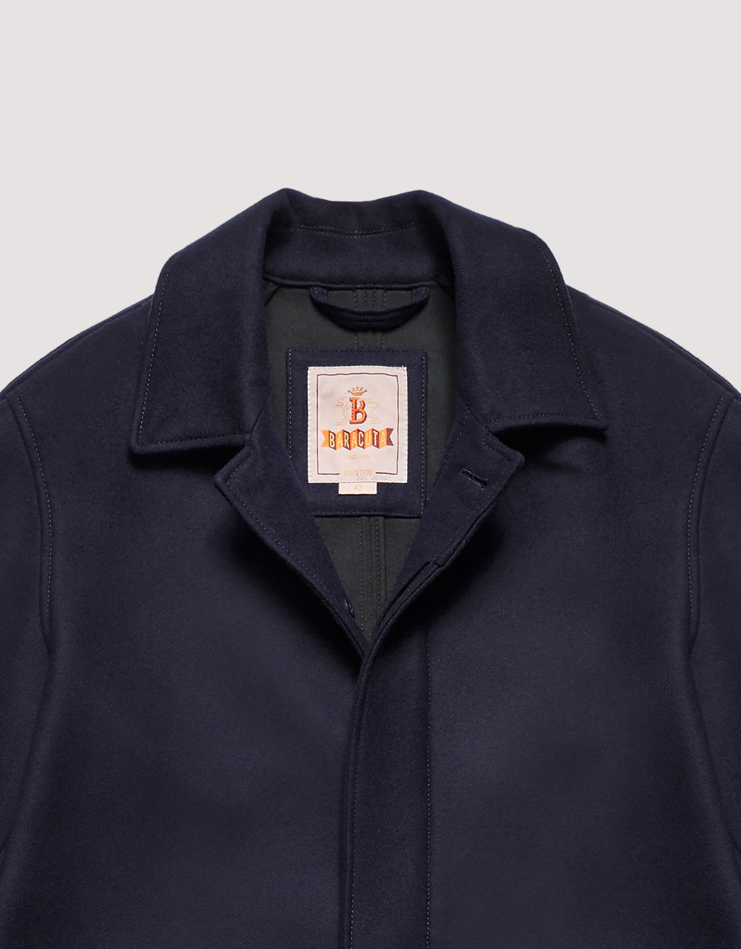 BARACUTA G10 Archive Fit Felted Neo Navy 6