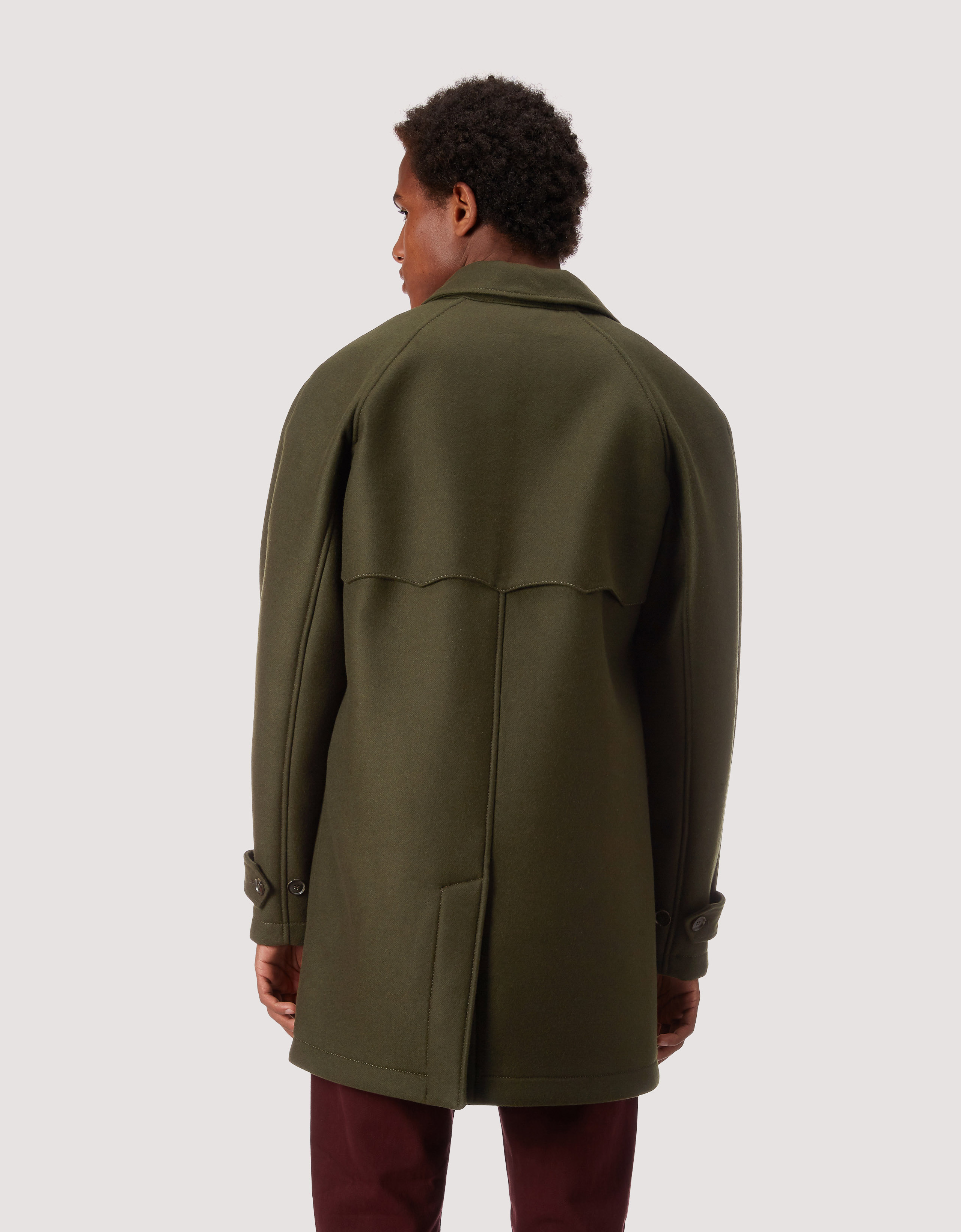 BARACUTA G10 Archive Fit Felted Neo Loden 3